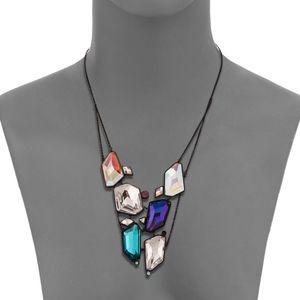 NIB Swarovski Crystal Rocket Long Necklace